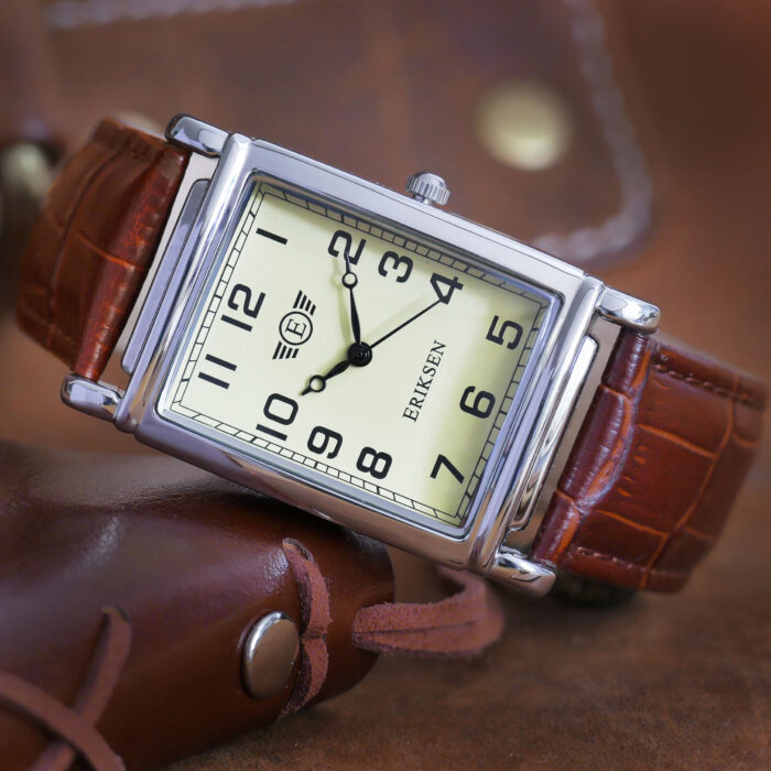 Mans Classic Silver Watch